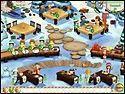 Скриншот мини игры Кафе Амели. Рождество