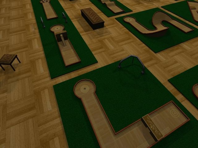 Mini-golf. CHempionat
